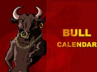 Bull Calendar strip game